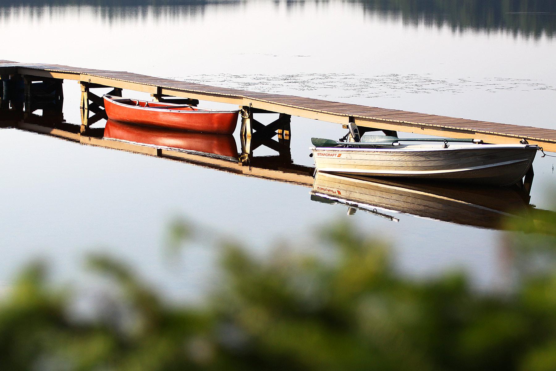bonny eagle pond maine dock