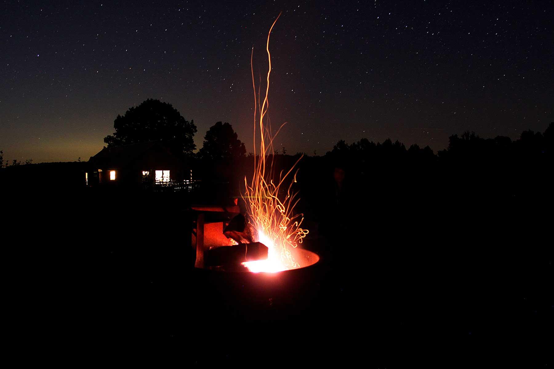 campfire james river state park