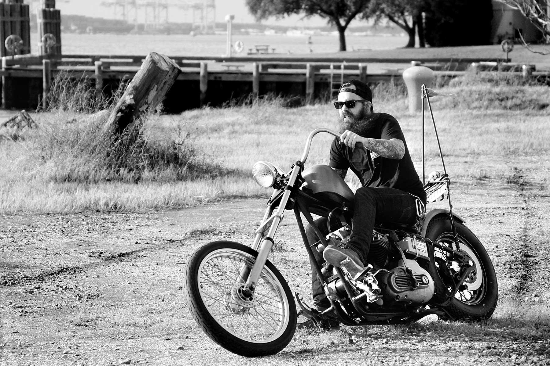 Pete's ironhead chopper